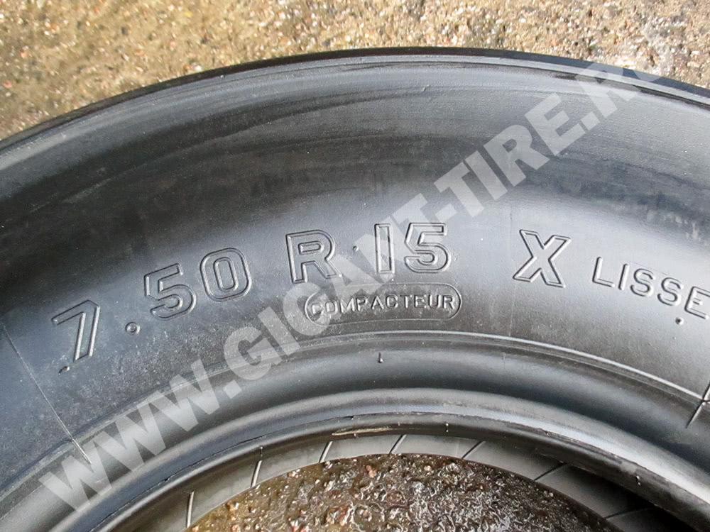 Новые шины Michelin 7.50 R15 XLC для дорожных катков