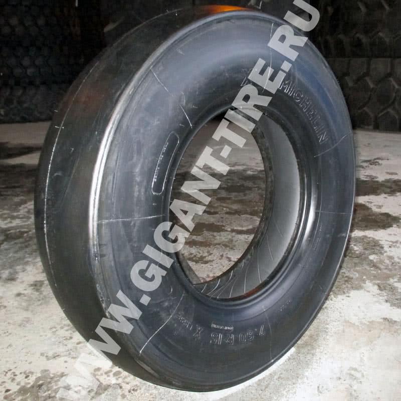 Гладкий протектор спецшины Michelin 7.50R15 XLC C1