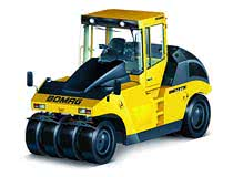 Шины для спецтехники: особенности моделей для дорожных катков