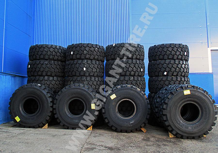 Шины Michelin 29.5R25 X SUPER TERRAIN E-4 для карьерных и сочленённых самосвалов в Санкт-Петербурге