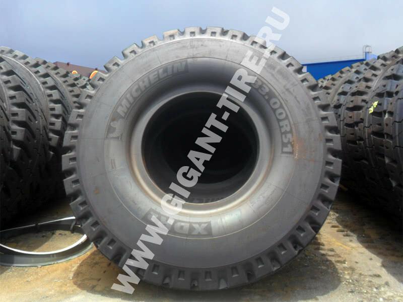 Шины Michelin 33.00 R51 XDR2 B4 E4 для карьерных самосвалов