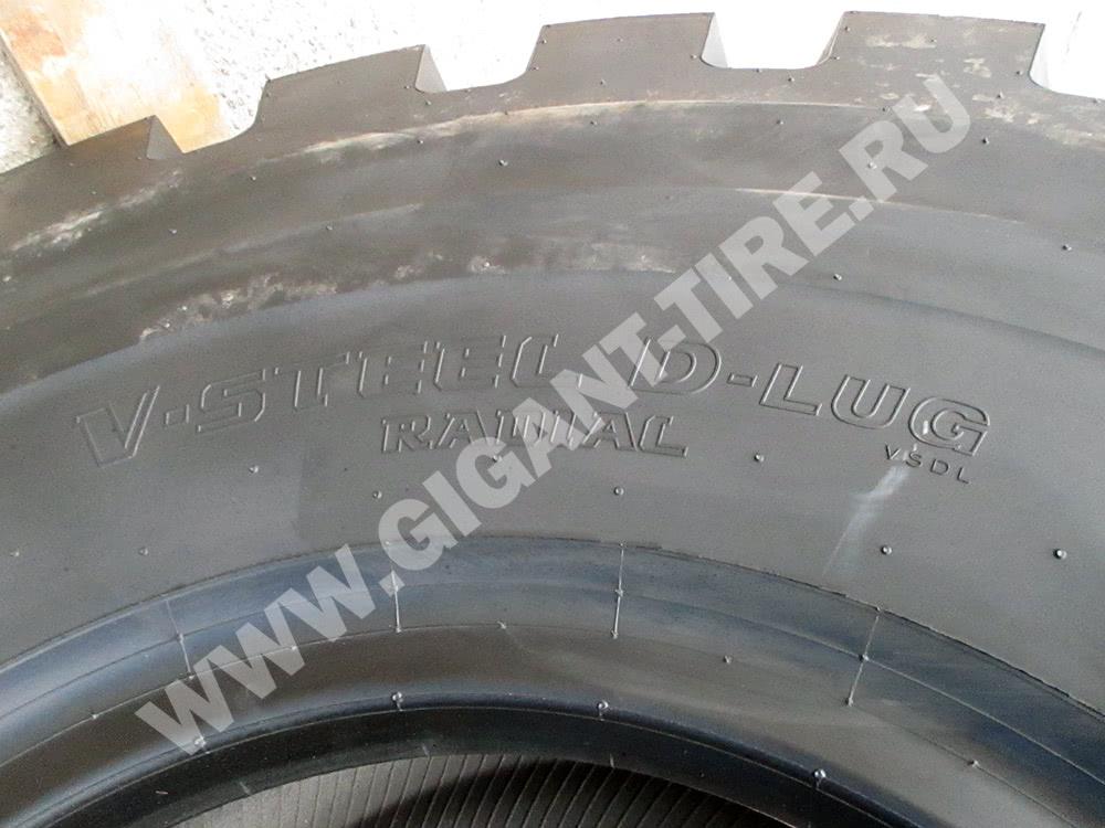 Шина 20.5 R25 VSDL L-5 Bridgestone для погрузчиков и бульдозеров