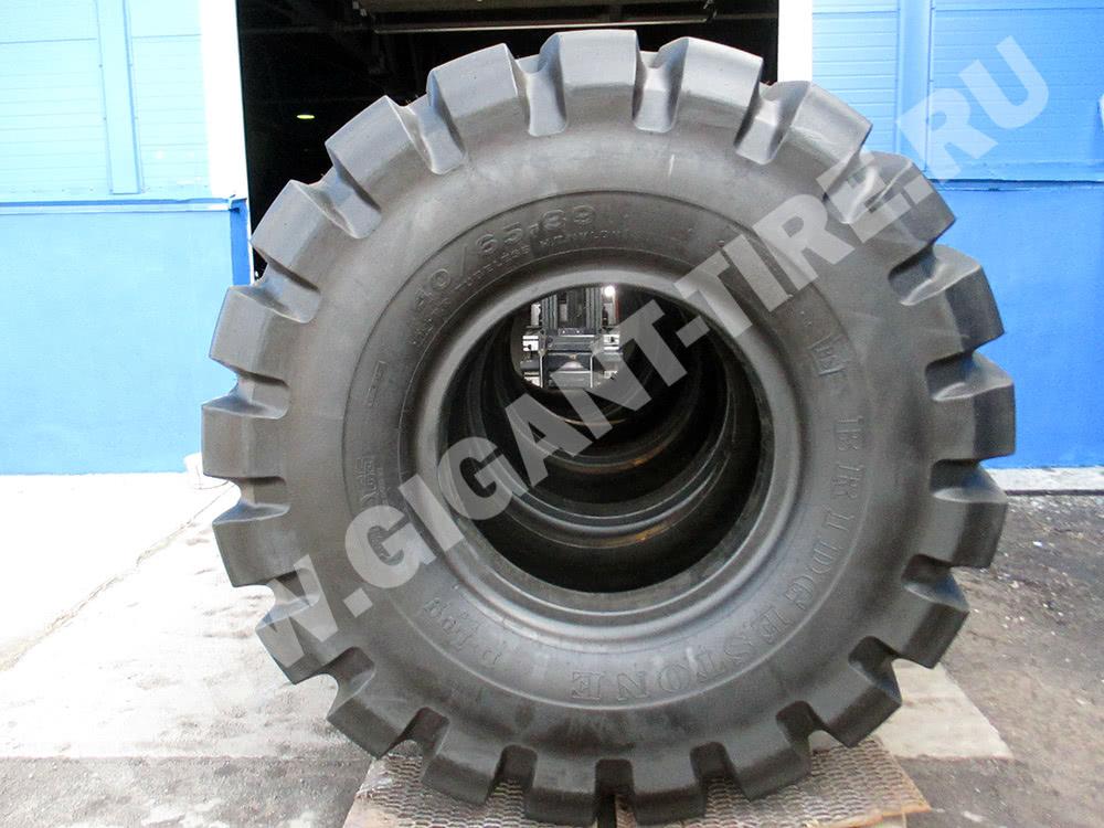 Шины Bridgestone 40/65-39 D-LUG для карьерных самосвалов