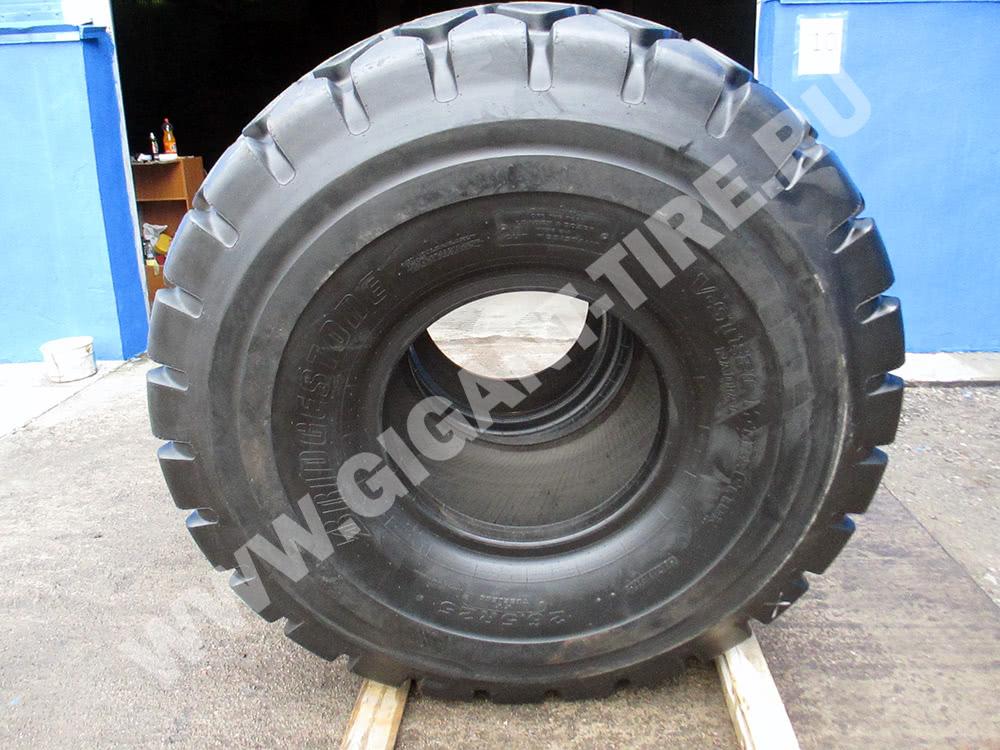 Фото новых шины Bridgestone 26.5 R25 VMT L3 для погрузчиков, вид сбоку