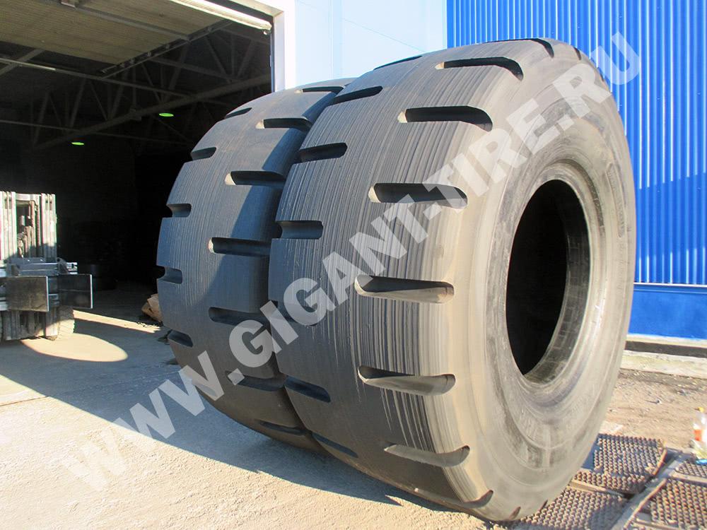 Пара резиновых спецшин Bridgestone 45/65-45 D-LUG 2 L-5 для карьерных самосвалов