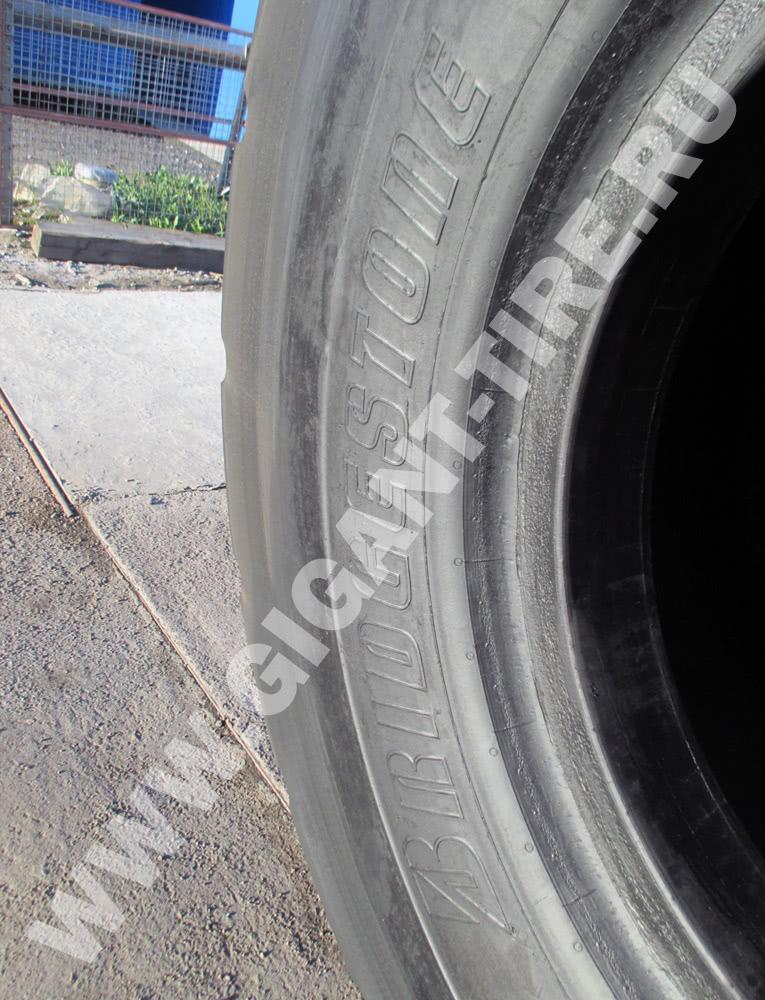 Восстановленные шины Bridgestone 45/65-45 D-LUG 2 L-5 для карьерных самосвалов на итальянском заводе Marangoni