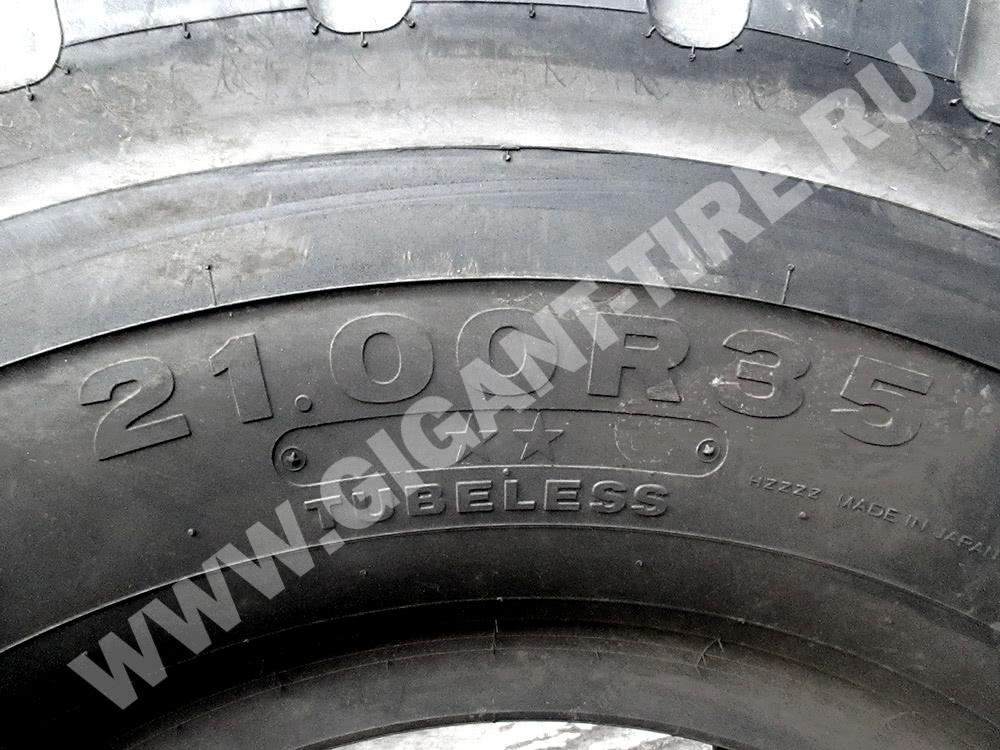 Размер шин Bridgestone 21.00 R35 VMTPz E-3