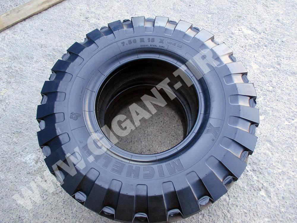 Новые шины Michelin 7.50 R15 X MINE D2 C1