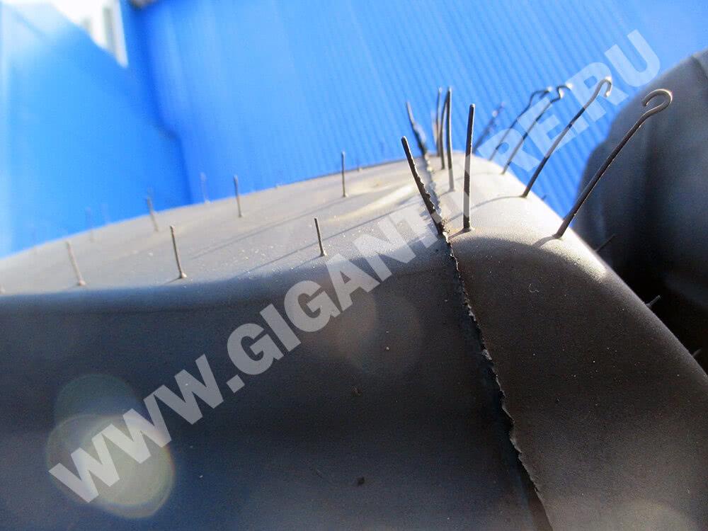 Резиновые усики на новых шинах Goodyear 29.5 R25 TL-3A+