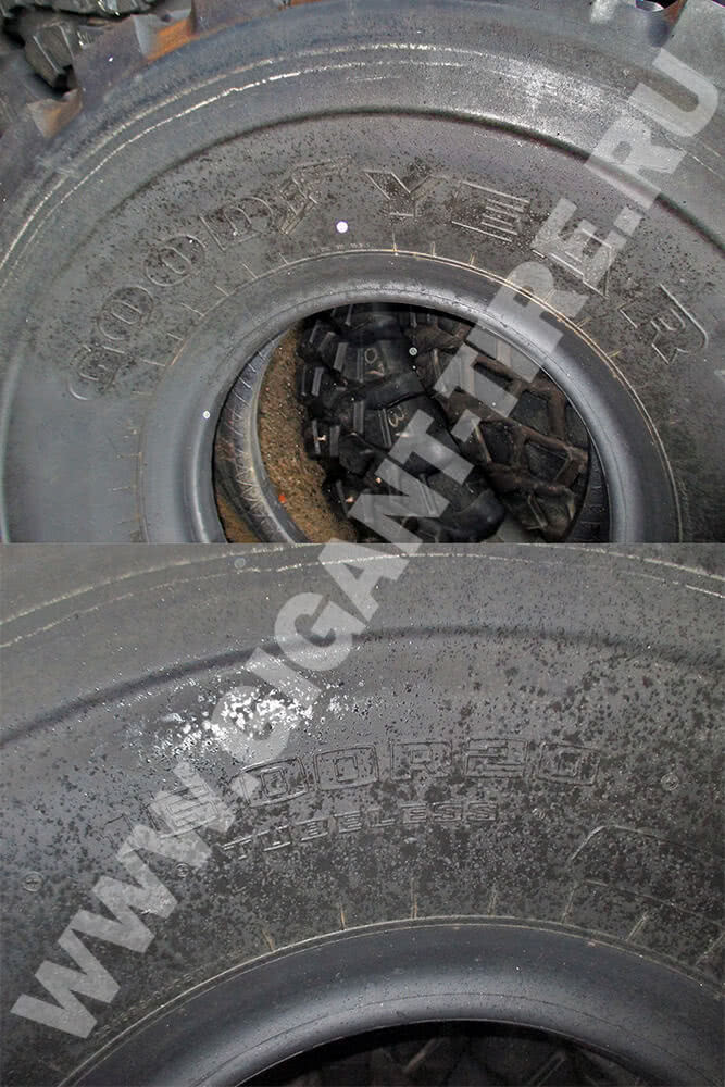Новые шины Goodyear 16.00 R20 AT 3A