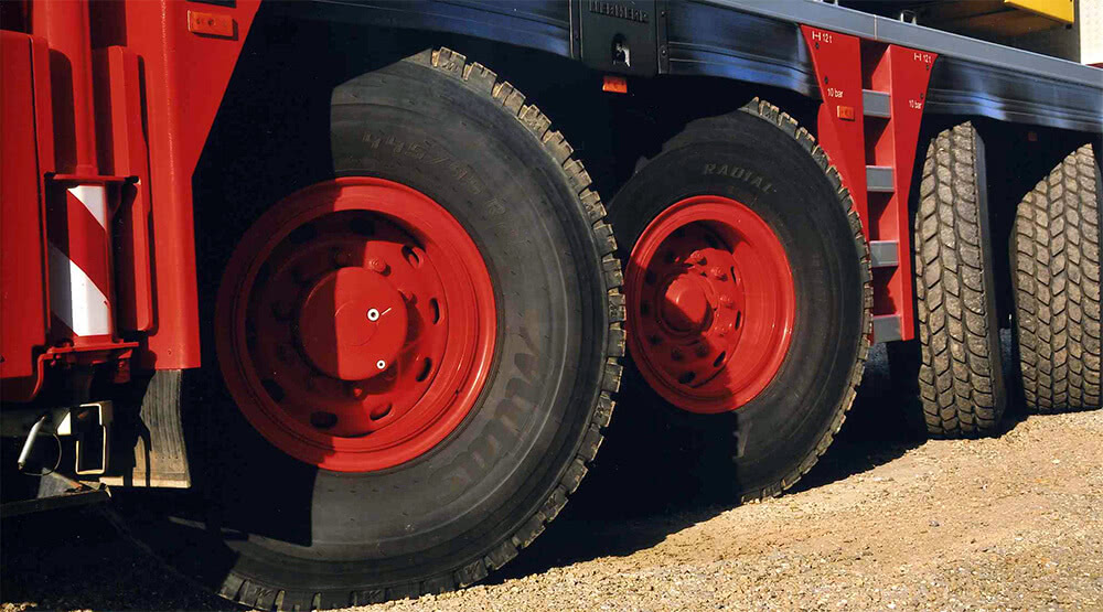 New Mitas CR-02 crane tire